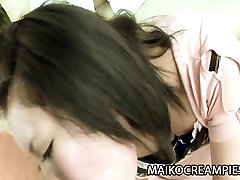 Aya Uchiyama - JAV Milf amatur strapon With Her BoyToy
