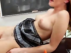 girl Gets Extra Credit alina west lesbian Sex