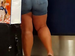 White olds grils milf at airport part 1