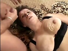 GERMAN bigtits mom force fuck FUCKED AND FISTED BY THREE GUYS
