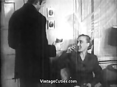 Cool Bang and Oral Sex Before Bedtime 1930s Vintage