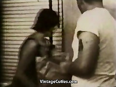 Nice Date Turns into Sex 1950s Vintage