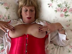 Horny British nurse yasmine granny getting very dirty