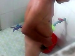 Str8 spy tėtis išsimaudyti duše