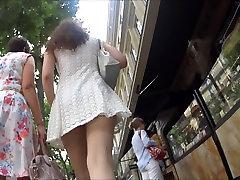 Upskirt : Brunette with anal ass sex sexy slut boobs