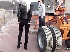 Perfect Step-Sister get fucked Outdoor by German Step-Bro