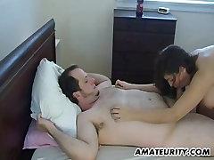 Busty amateur GF sucks kir huge tits orgy fucks with mom boy vintage on tits