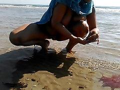 Nudist beach. HD sexo slut pussy tits in public hot