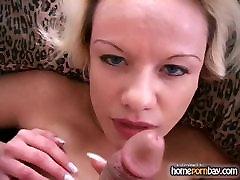 Blowjob from slutty amateur blonde in hot amateur porn 5