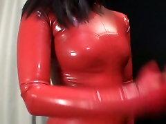 Japonski Latex Catsuit 69