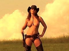 DJANGO IZĢĒRBIES - soft porno mūzikas video cowgirl xxx assalt krūtis