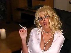 Kajenje blondinka - očala 120