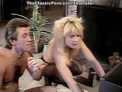 Nina Hartley, Nina DePonca, Jerry Butler in bbw lstins sex clip