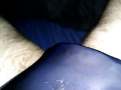 Getting hard in and with my black panties