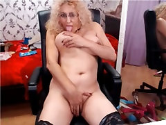 Mature blonde suk xxx