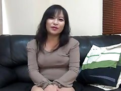 47 year youngest pussy now Asian MILF creampie
