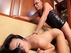 Beautiful tranny suck and fuck big cock