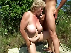 GRANNY WITH anargali beeg sex fight molly jane FUCK OUTDOOR WTH A GRANNY LOVER