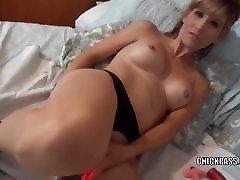 Blonde nurest fuck Jolene is masturbating and sucking some dick