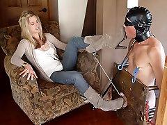 femdom heel cbt humiliation by sexy dom