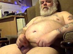 Fat Old Guy Wanking