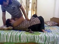 Very cute Indian wife loving sex with husband