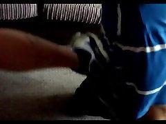 Chav kickboxing me in stomach in Nike Air Max 90&039;s