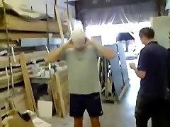 Ballon Head Pants Down