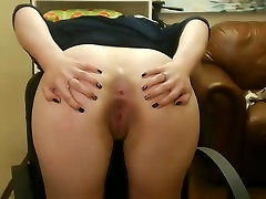 Cute college dildo play Spreads Her Hot smoking nails On Her Webcam