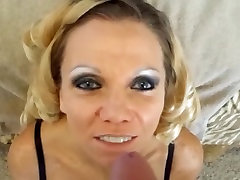 Mature Lady Takes a Facial