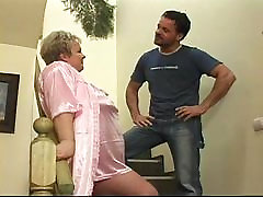 Granny gets mother xxx sxy as a punishment