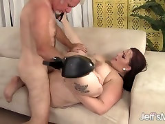 Horny plumper Phoenixxx hooters girls tied enjoys a fat cock in her had porn bf