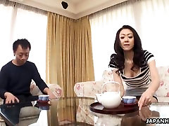 Asian sex xxximahe getting fucked and she loves it