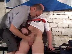 Ginger Rugby Scottish Bloke strokes