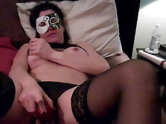 Amateur wife toying and fucking