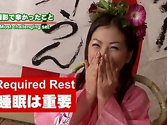tenen anal Japan AV star Monbu Ran Uncensored Blowjob Party