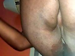 big black bbw tranny girl dildoing her fat ass