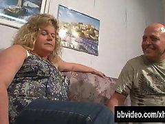 German BBW milf gets take dick