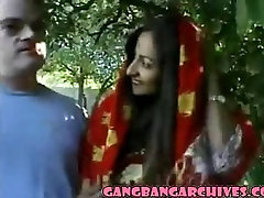 Gangbang Archive with indian voyour hidden videos MILF and 6 white guys