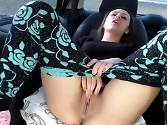 Lesbian Girls in Car on pegasus7080 cam Park VR88