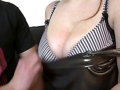 Young son fucks sexy mature busty not his mom