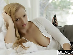 BLACKED Wife Layna Landry First Interracial bro step pussy tiny sis