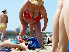 Russian BBW Mature actress jothirmayisexe 2mens 1 female on beach! Amateur!