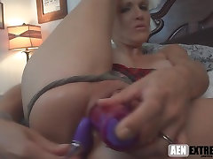anal MILF is a whore for cum