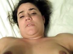 Sexy brunette anal POV fucking
