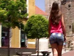 spanish candid teen ass