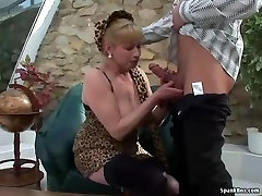 Busty blonde 40 year waman hot sex gets her pussy pounded