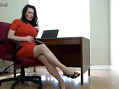 Hot British mom playing with her japanese seduced by coach boobs