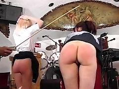 two british girls spanked