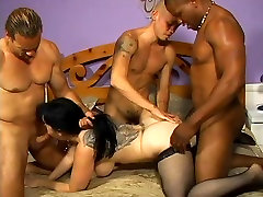 Couger with pale skin in girl evening bang